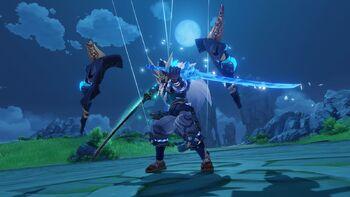 Todo sobre Oni Espadachin | Genshin Impact