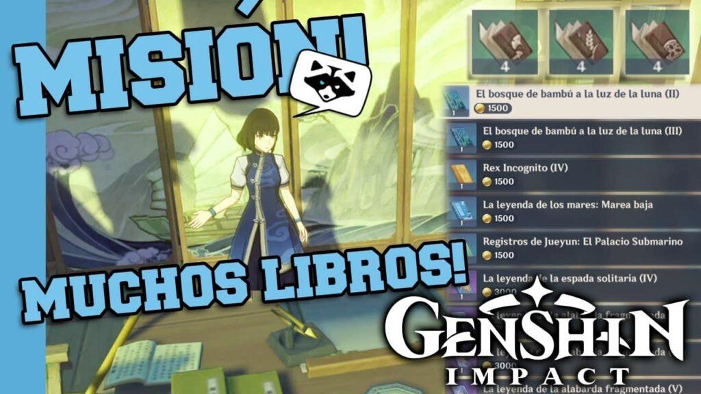 ¿Cómo completar Libros que valen su peso en Mora en Genshin Impact?