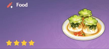 Rollito de jade en Genshin Impact